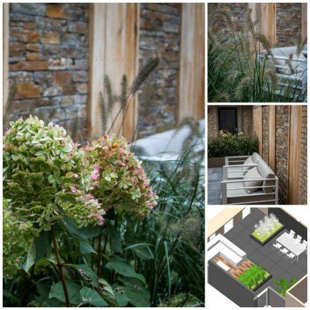 achtertuin patio vanDoorenTUINEN